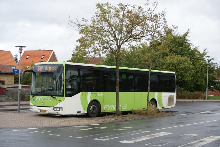 Tide Bus 8191/BF97838 ved Middelfart st. den 11. september 2012