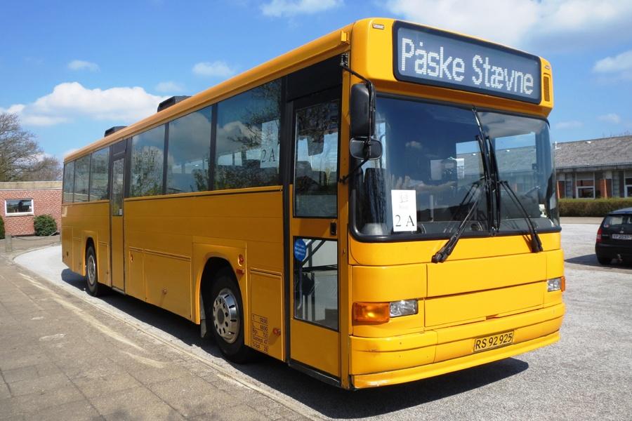 Stoltzes Taxi og Turist RS92925 i Biersted den 19. april 2014