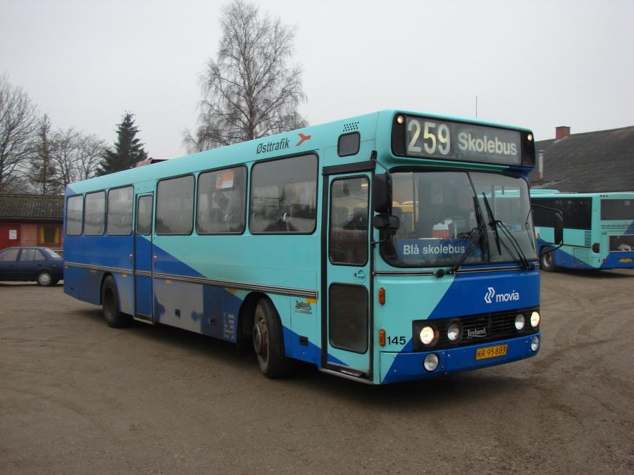 Østtrafik 145/KR95883 i Hårlev den 11. februar 2008