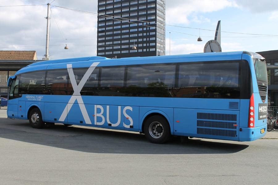 Brande Buslinier 151/AD65273 på Århus rtb. den 4. maj 2014