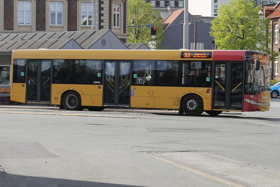 Århus Sporveje 143/VZ91088 på Århus rtb. den 4. maj 2014