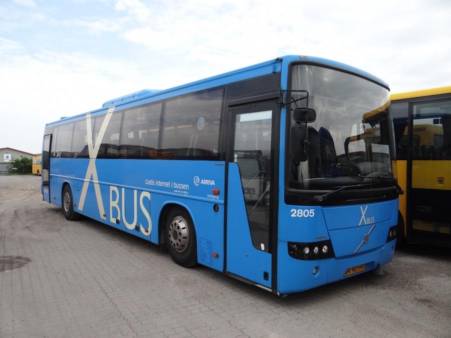 Arriva 2805 hos Vejstruprød Busimport den 21. maj 2014