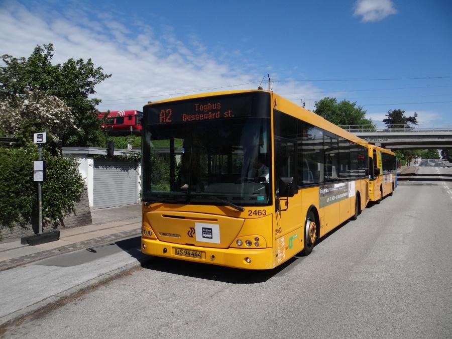 City-Trafik 2463/US94444 ved Dyssegård Station den 24. maj 2014