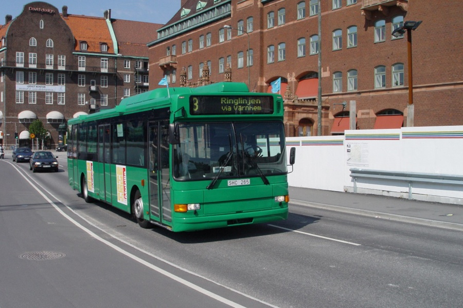 Arriva 6519/SHC265 på Posthusplatsen i Malmö i Sverige den 16. juli 2007