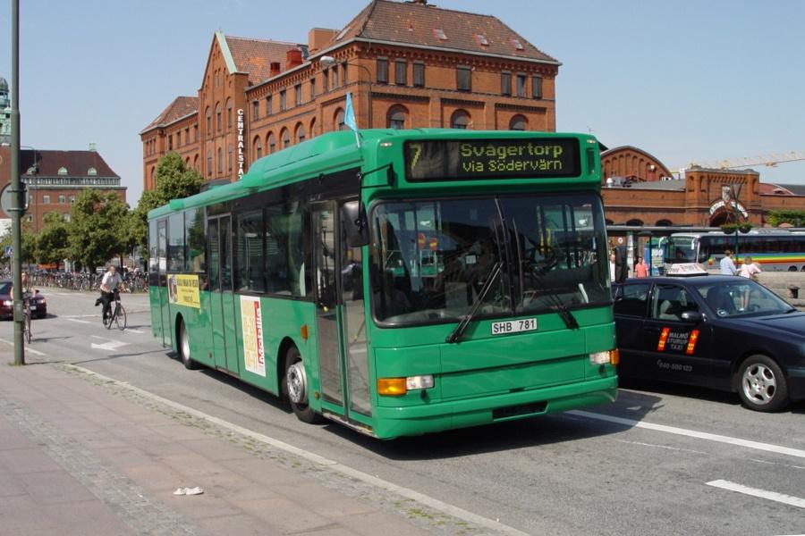 Arriva 6535/SHB781 ved Malmö Centralstation i Sverige den 16. juli 2007