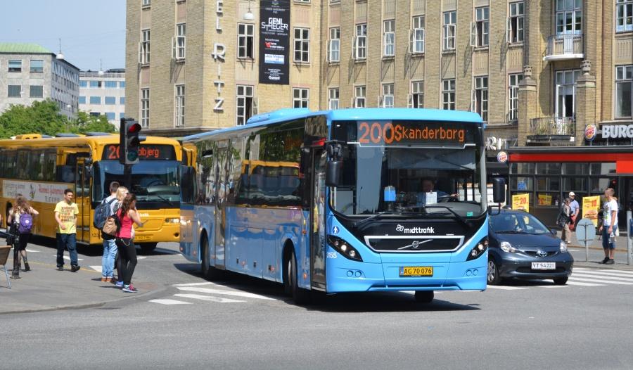 Arriva 3155/AG70076 på Park Allé i Århus den 22. maj 2014