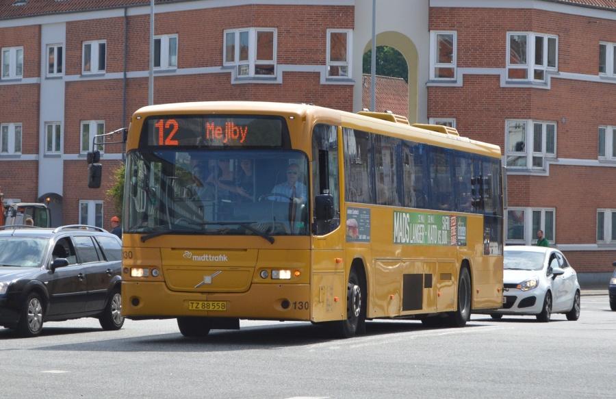 Århus Sporveje 130/TZ88558 på Nørregade i Århus den 22. maj 2014