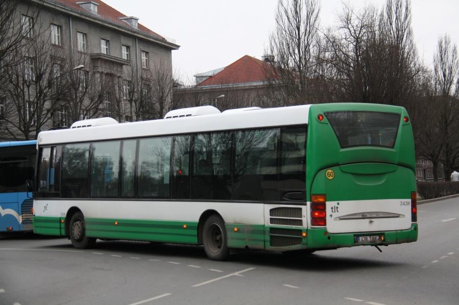 TLT 3438/438TAK i Tallinn i Estland den 26. februar 2014