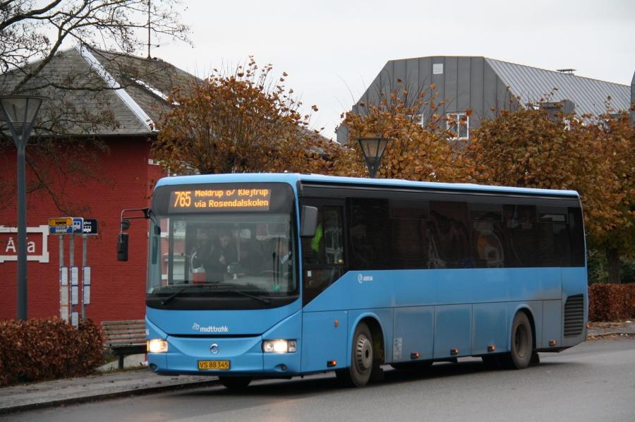 Arriva 2296/VS88345 ved Hobro St. den 22. november 2013