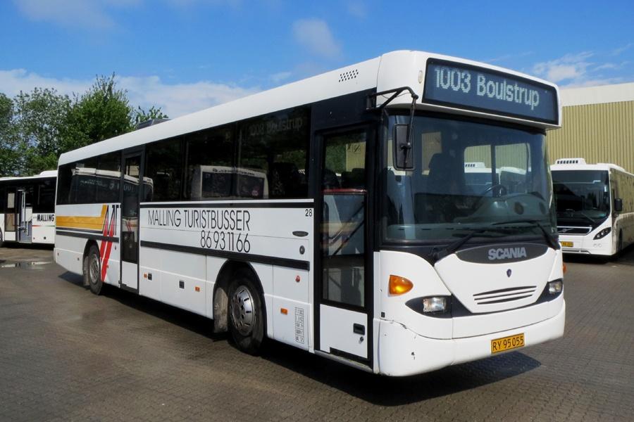 Malling Turistbusser 28/RY95055 i Malling den 23. maj 2014