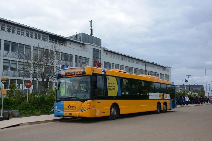 Arriva 1174/CG94323 på Refshaleøen i København den 10. maj 2014