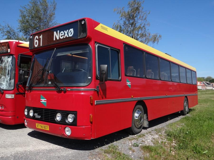 Østbornholms Lokaltrafik XT96807 i Nexø den 2. juni 2014