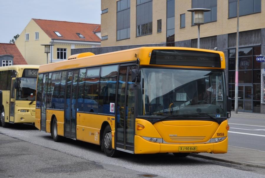 Arriva 1959/XJ90848 på Herning Rtb. den 17. maj 2013