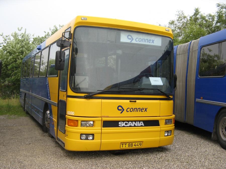 Veolia 8300/TT88449 i garagen i Skejby den 5. juli 2007