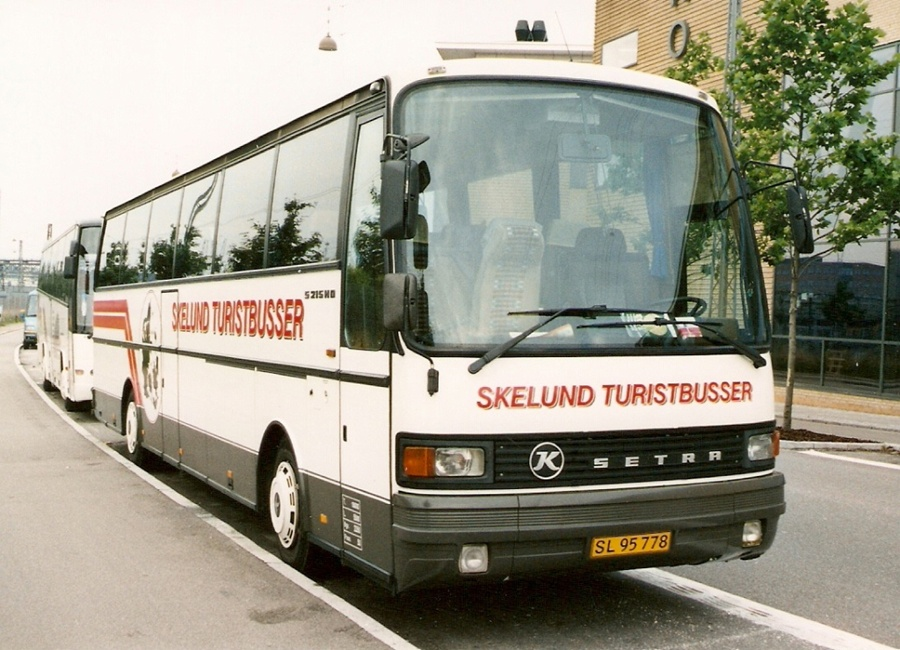Skelund Turistbusser SL95778 på Ingerslevsgade i København