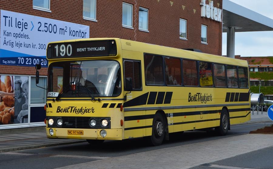 Bent Thykjær 114/NC97606 i Ikast den 20. juni 2014