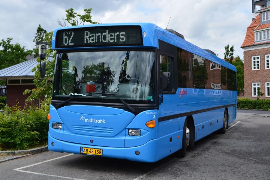 Silkebus 3/AB42158 i Viborg den 20. juni 2014