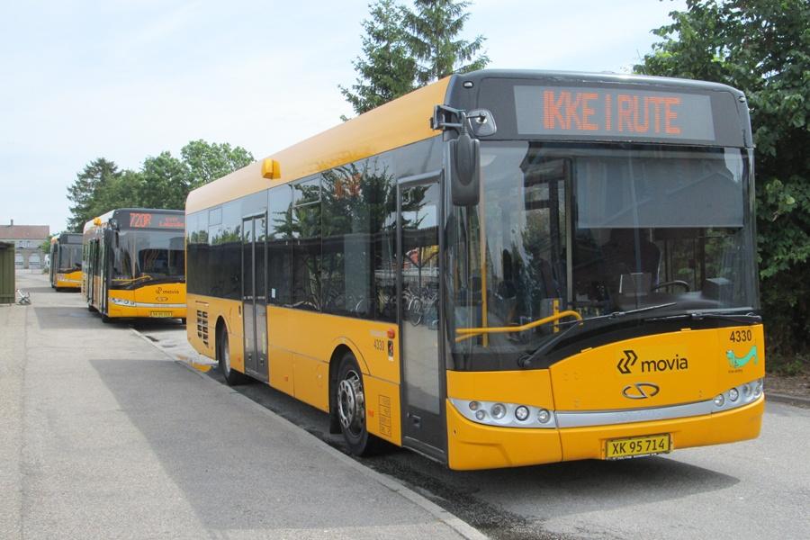 Skørringe Turistbusser 4330/XK95714 ved Maribo st. den 28. juni 2014