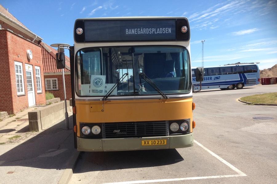 Vrå Busservice XX10233 ved Hirtshals st. den 12. juli 2014
