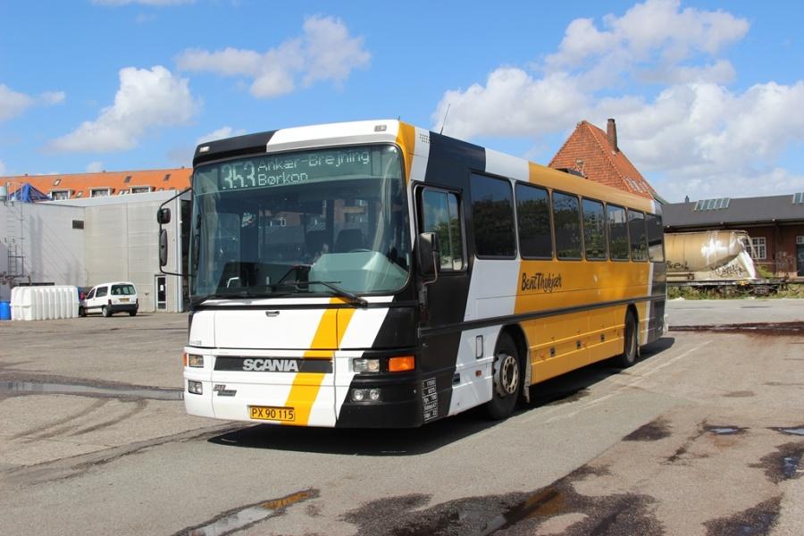Bent Thykjær 328/PX90115 på Gammelhavn i Vejle den 11. august 2014