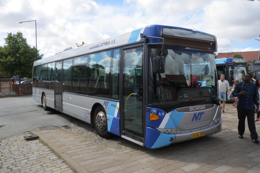 Hjørring Citybus 79/UX91358 på Hjørring rtb. den 31. juli 2014