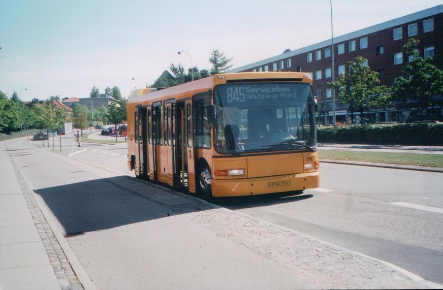 Arriva 1763/PP94331 på Søborg Hovedgade den 1. september 2005