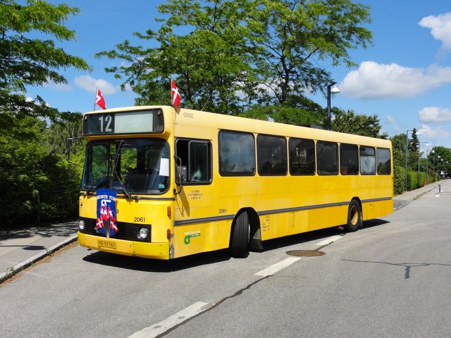 City-Trafik 2061/MB92561 på Viemosevej i Islev den 30. juni 2014. Sidste dag for City-Trafik
