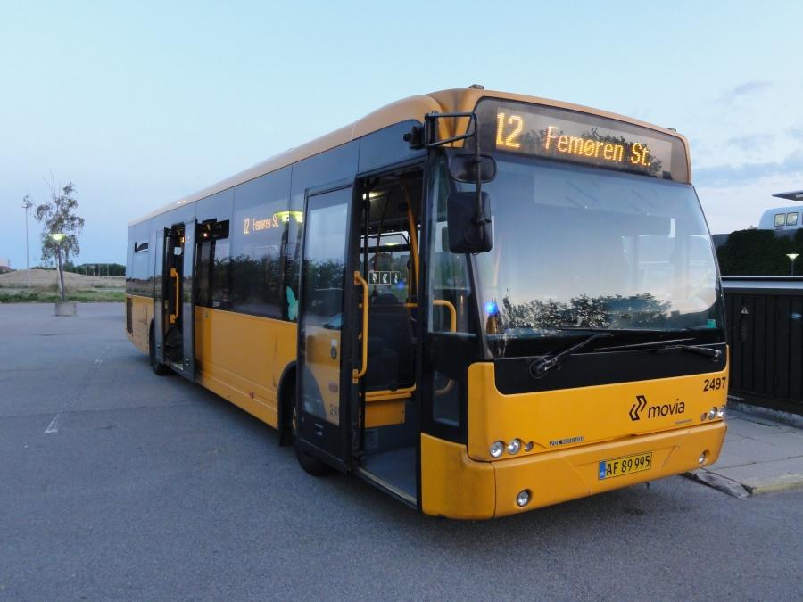 Keolis 2497/AF89995 ved Femøren Station den 8. august 2014