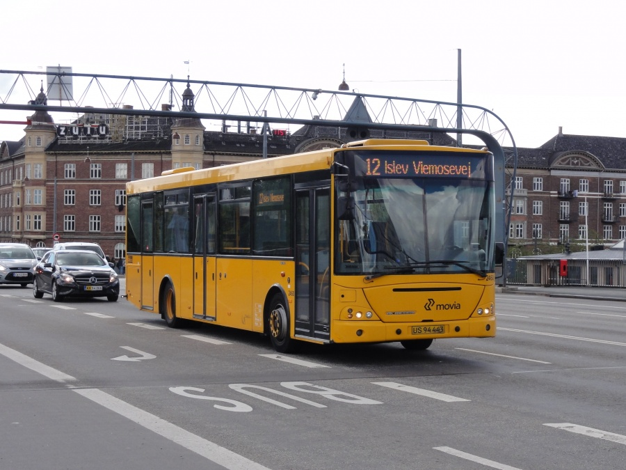 Keolis 2460/US94443 på Langebro i København den 23 august 2014