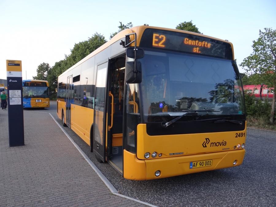 Keolis 2491/AF90001 ved Hillerød Station den 6. august 2014