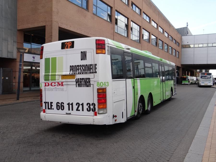 Tide Bus 8043/SM90323 ved Odense Banegård Center den 3. september 2014