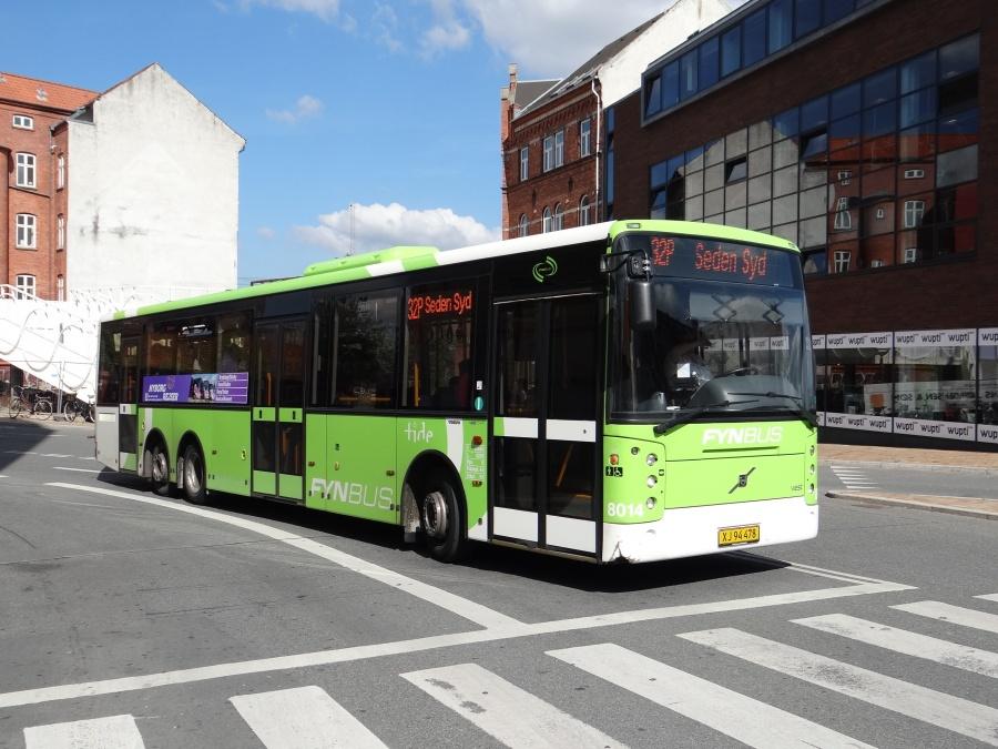 Tide Bus 8014/XJ94478 ved Odense Banegård Center den 3. september 2014