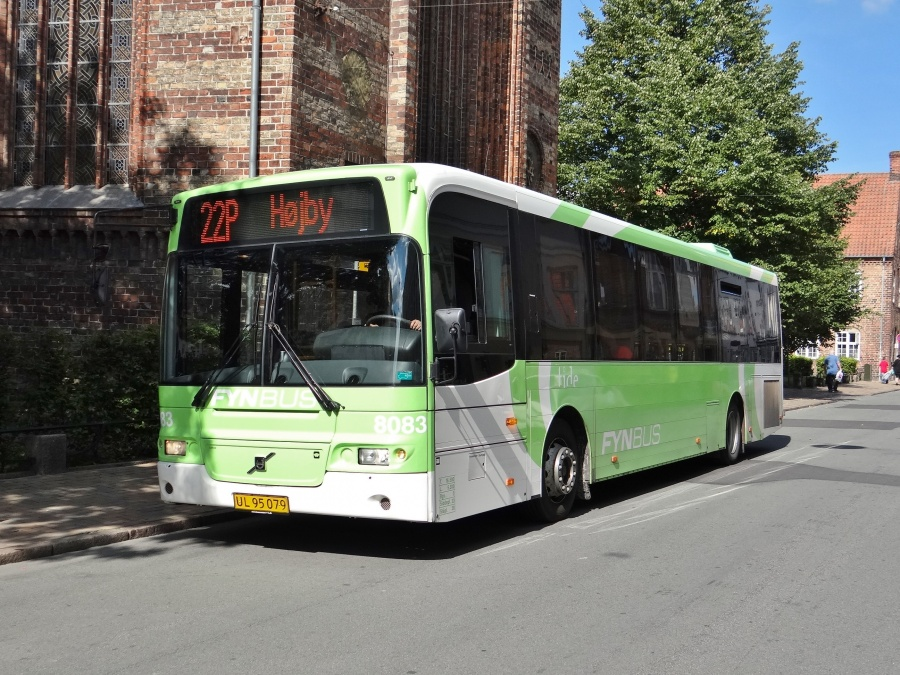 Tide Bus 8083/UL95079 i Nørregade i Odense den 3. september 2014