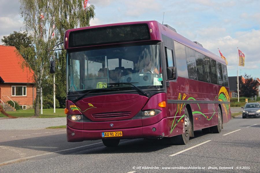 Terndrup Turistbusser AU91216 i Ørum den 9. september 2015