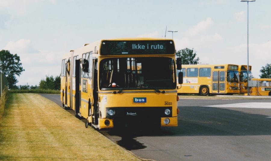 Bus Danmark 3033/LH94569 på Norgesvej i Vejle den 23. juni 1998