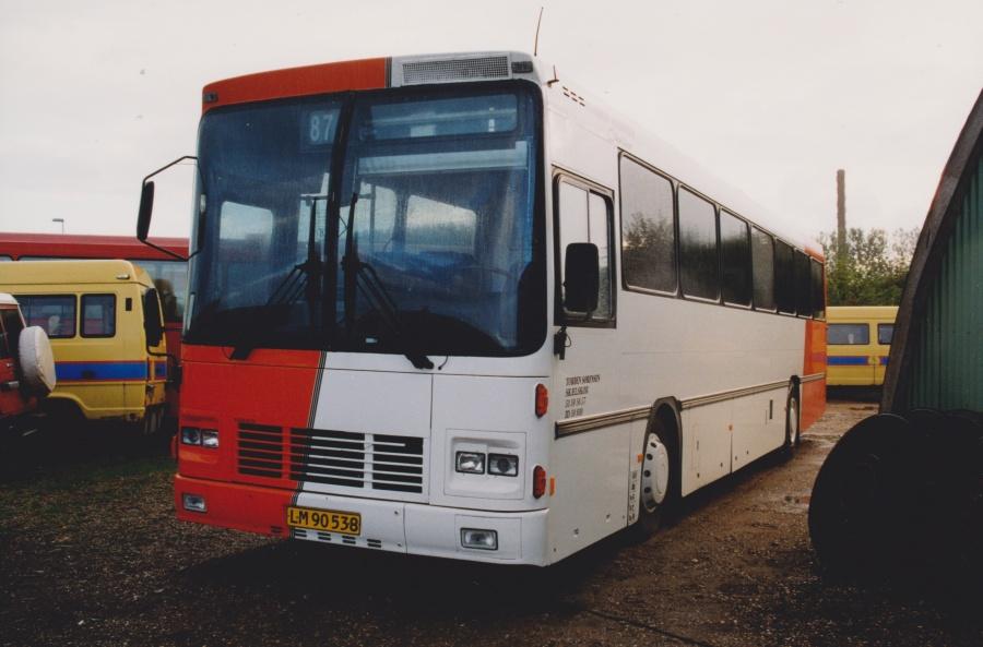 Torben Sørensen LM90538 ved Vejle Busophug den 5. oktober 1999