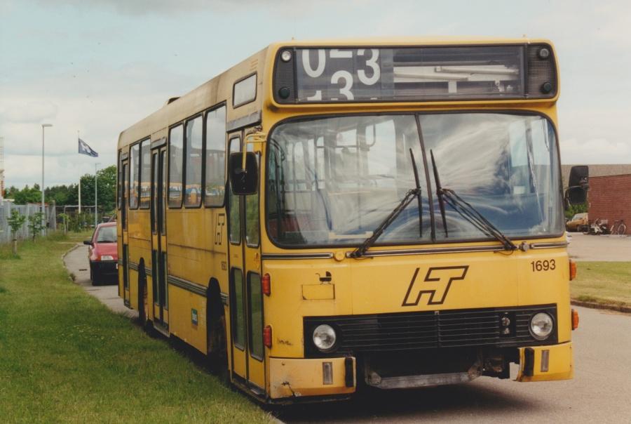 Bus Danmark 1693 ved Vejle Busophug den 11. juni 2001