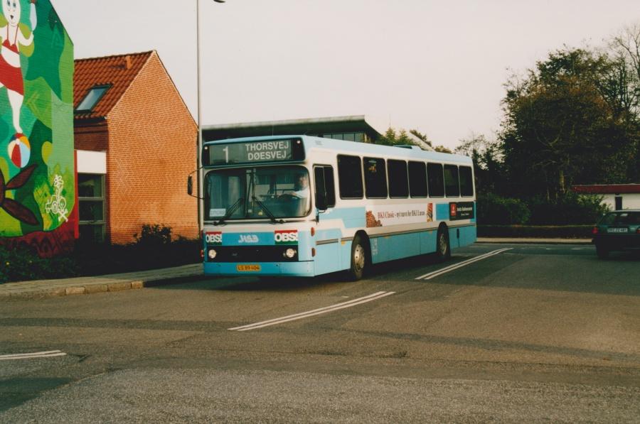 Holstebro Bybusser 3/LS89404 i Holstebro den 17. oktober 2001