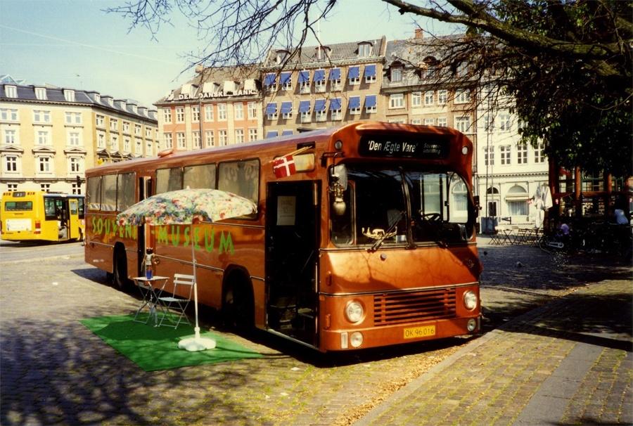 Kulturby 96 OK96016 på Kongens Nytorv i København i juni 1996