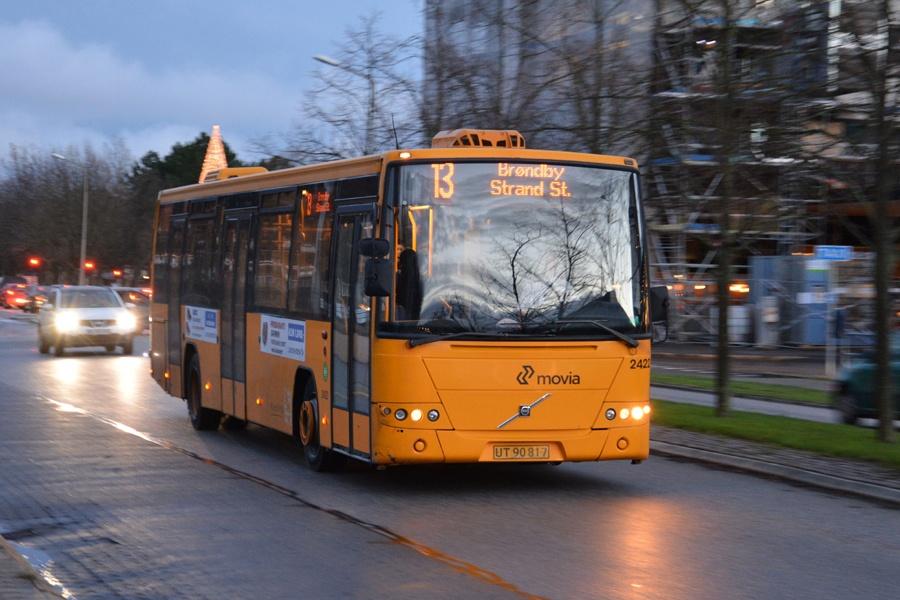 Keolis 2422/UT90817 på Rødovre Parkvej i Rødovre den 11. december 2014