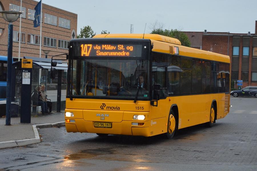 Arriva 1515/XD96167 ved Ballerup st. den 13. oktober 2014