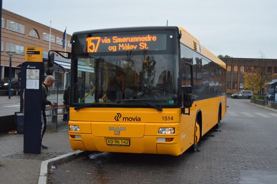 Arriva 1514/XD96142 ved Ballerup st. den 13. oktober 2014