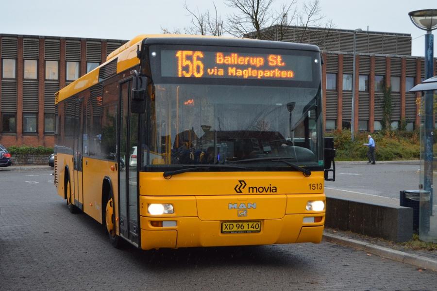 Arriva 1513/XD96140 ved Ballerup st. den 13. oktober 2014