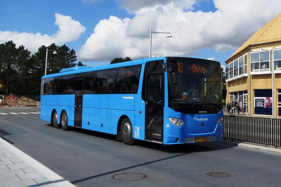 De Blaa Busser 95/XX11149 på Skive rtb. den 21. august 2014