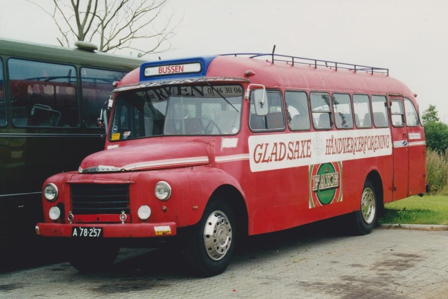 Gladsaxe Håndværkerforening A78257 ved Bus Center Vest i Kolding  den 5. august 2000