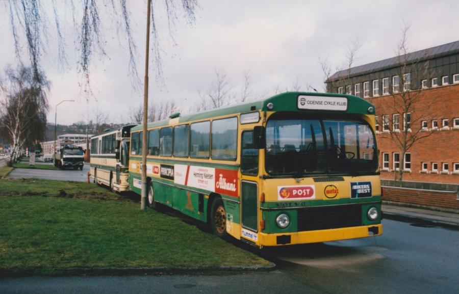 Odense Cykleklub på Boulevarden i Vejle den 5. marts 2000