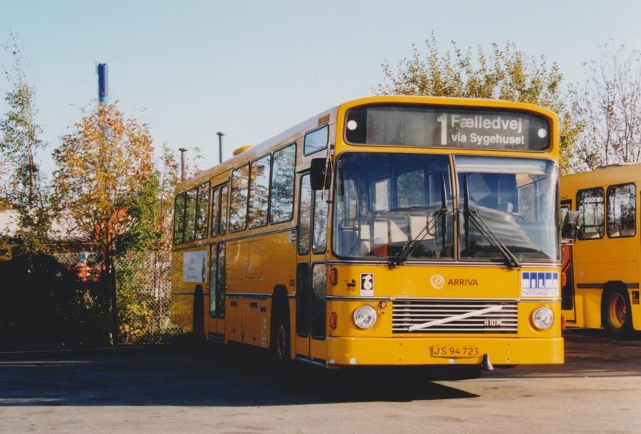 Arriva 3003/JS94723 i garagen i Fredericia den 18. oktober 1999