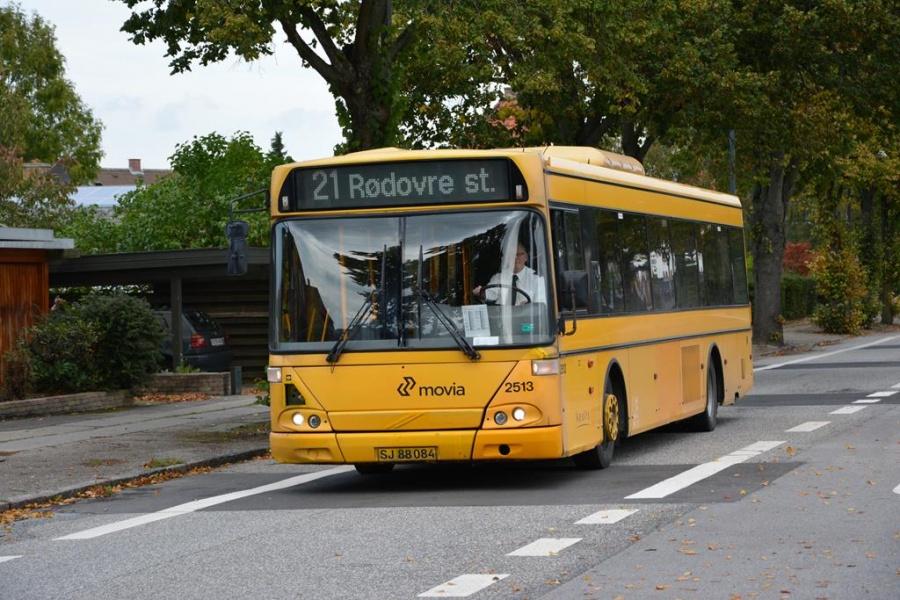 Keolis 2513/SJ88084 på Damhus Boulevard i Rødovre den 9. oktober 2014