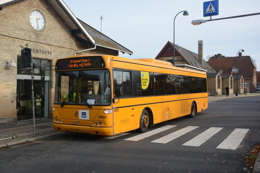 Keolis 2503/SJ88074 ved Gentofte st. den 26. oktober 2014