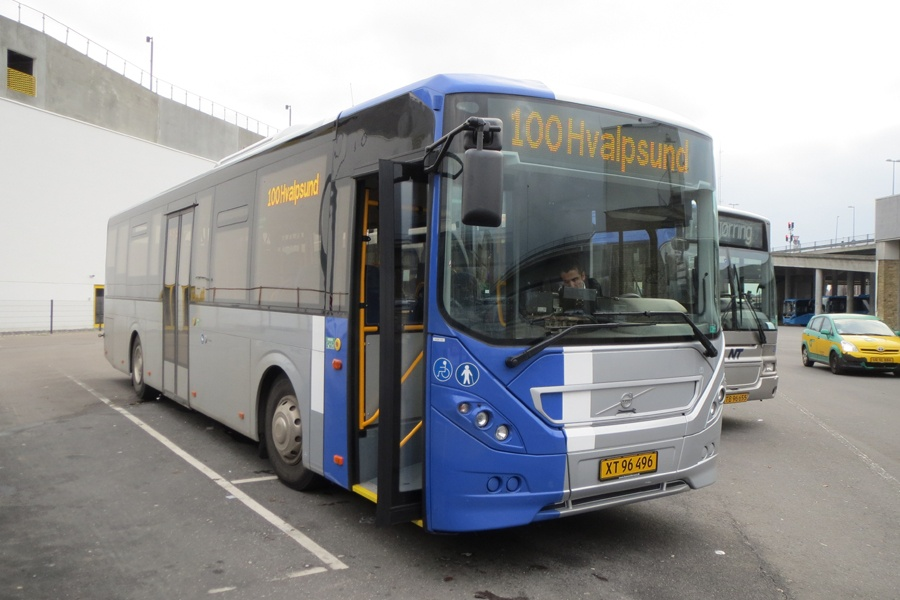De Blaa Busser 120/XT96496 på Aalborg Busterminal den 2. november 2014